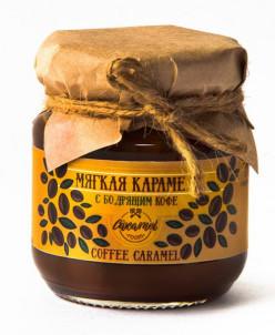 Мягкая карамель с зерновым кофе 110гр «COFFEE CREAM»