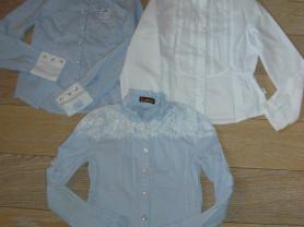 Школьные блузки на рост 140-146