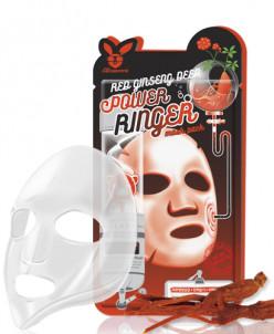 [Elizavecca] Тканевая маска д/лица с Красным Женьшенем RED g