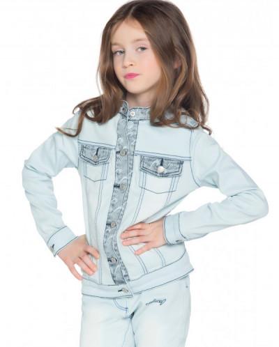 Куртка джинсовая д/девочек