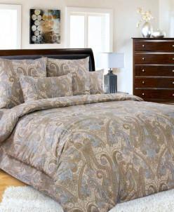 Комплект постельного белья из сатина 1-5 сп Кашмир 1