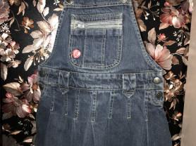 джинсовый сарафан юбка р 4