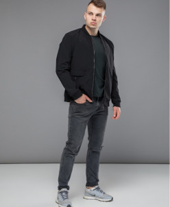 Куртка-бомбер Kiro Tokao №3725 черный
