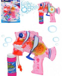 """Мыльные пузыри-пистолет """"Рыбка"""""""