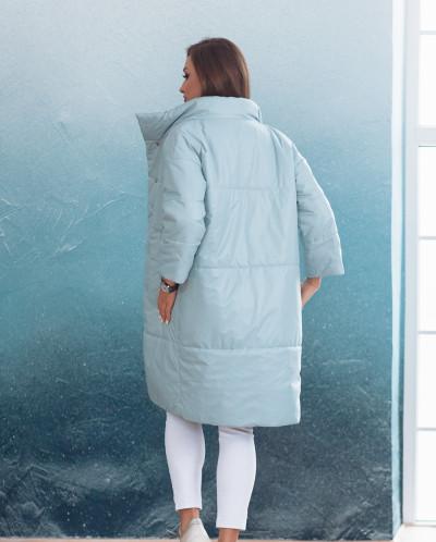 Куртка женская демисезонная 21680 (голубой)