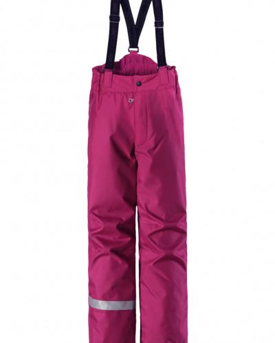штаны зимние на лямках