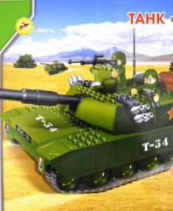 Конструктор лего танк Т-90