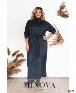 Платье №3292СБ-Синий