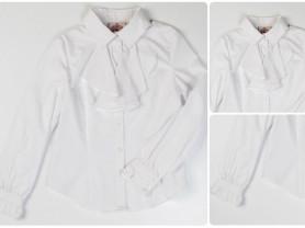 Красивая школьная блузка Chessford,134-140р. SALE!
