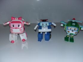 Робокар Полли и его друзья. Пакетом.