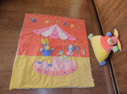 Игровой коврик -одеяло и подушка-игрушка, комплект