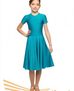 Рейтинговое платье, короткий рукав 3 цв, р.28-42