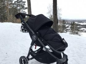 Продам Baby jogger city versa на GT колесах черная