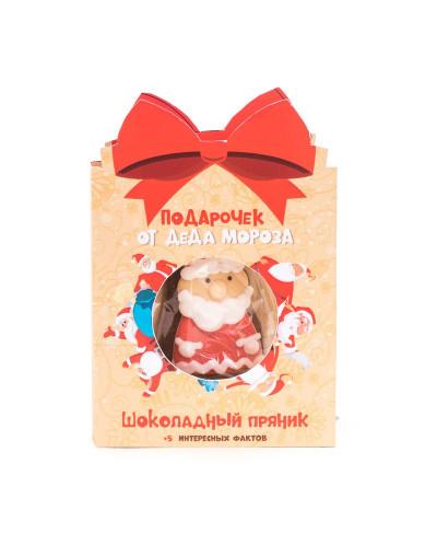 """Открытка с пряником """"Подарочек от Деда Мороза"""""""