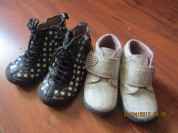 Пакетом ботинки Pablosky и Pomp d Api р 22