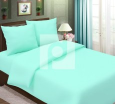 КПБ 1,5 спальный из бязи Стандарт Мята