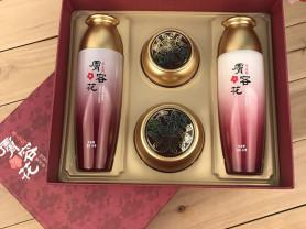 Набор увлажняющей косметики с гибискусом, Корея