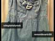Топ корсетный новый Jimmy Key размер М 46 джинса голубой клёш на бретельках розы спереди Одежда женская топы корсет корсеты джинса