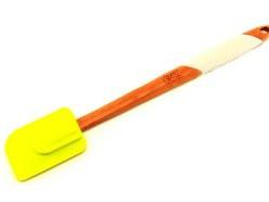 2798 GIPFEL Лопатка для салата 36,5х5х1,7 см (бамбук, силико