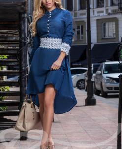 Асимметричное платье
