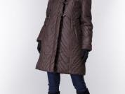 Пальто новое с норкой, 50-52 р-р