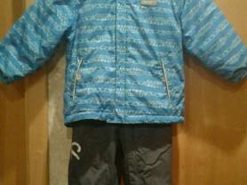 Куртка, полукомбинезон reima и шапка