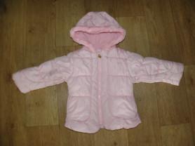 Демисезонная розовая куртка oshkosh (США) 2-3 г