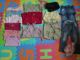 Пакет модной одежды для девочки 86 + (14 шт)Очень