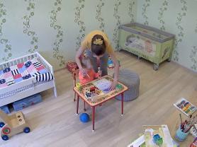 Видеоконтроль няни и ребека