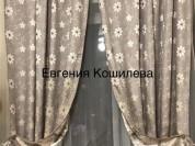 Новые шторы, материал лён