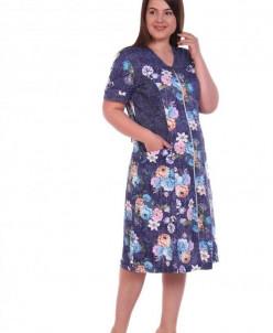 Халат женский Стелла (3483). Расцветка: джинс