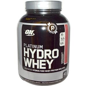 Optimum Nutrition, Platinum Hydro Whey (1.59кг) Strawberry