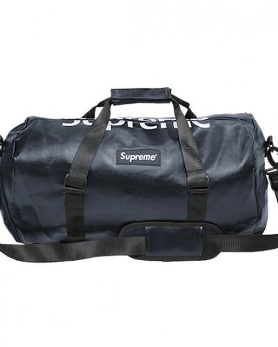 Спортивная сумка на плечо из экокожи