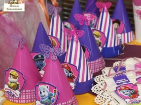 Оформление праздника Щенячий патруль для девочки