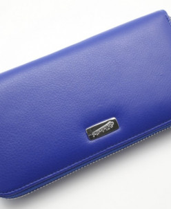 Женский кожаный кошелек на молнии Sergio Valentini СВ 8021-2