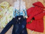 Верхняя одежда р.122-134