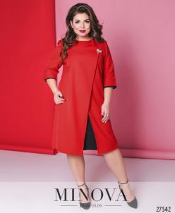 Платье №6143-1-Красный