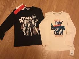 Новые хлопковые кофты для мальчика, р 110-116