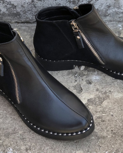Кожаные ботинки. New collection