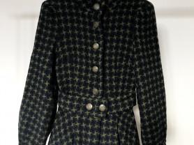 Драповая куртка-жакет