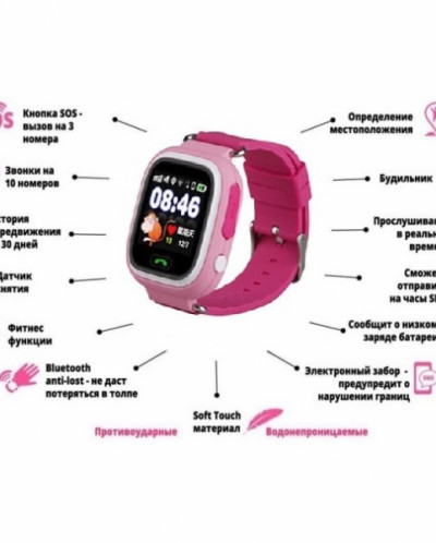 ДЕТСКИЕ ЧАСЫ GPS ТРЕКЕР SMART BABY WATCH Q90