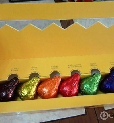 """Набор ликерных конфет """"Прозит"""" с восьми видами начинок 180гр"""
