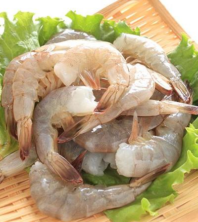 Креветка сыр/мор очищенная с хвостом 1кг