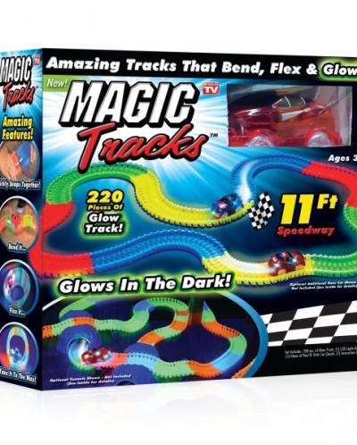 Волшебный трек/трасса конструктор Magic Tracks 220д. с машин