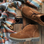 Замшевые ботинки, р.31-37