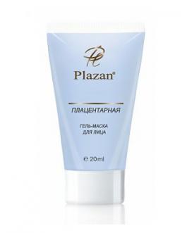 Плацентарная гель - маска для лица Plazan