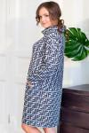 Платье Нелли принт Fendi (Пб-200-1)