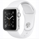 Apple Watch Series 1 38mm with Sport Band White