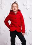 Куртка Женева красная подросток 000350