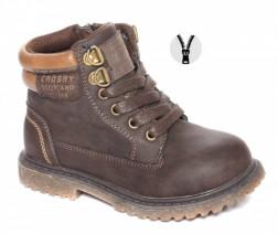 Ботинки Crosby повседневные для мальчика 268106/01-03